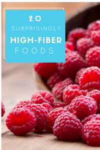 20 Surprisingly High-Fiber Foods