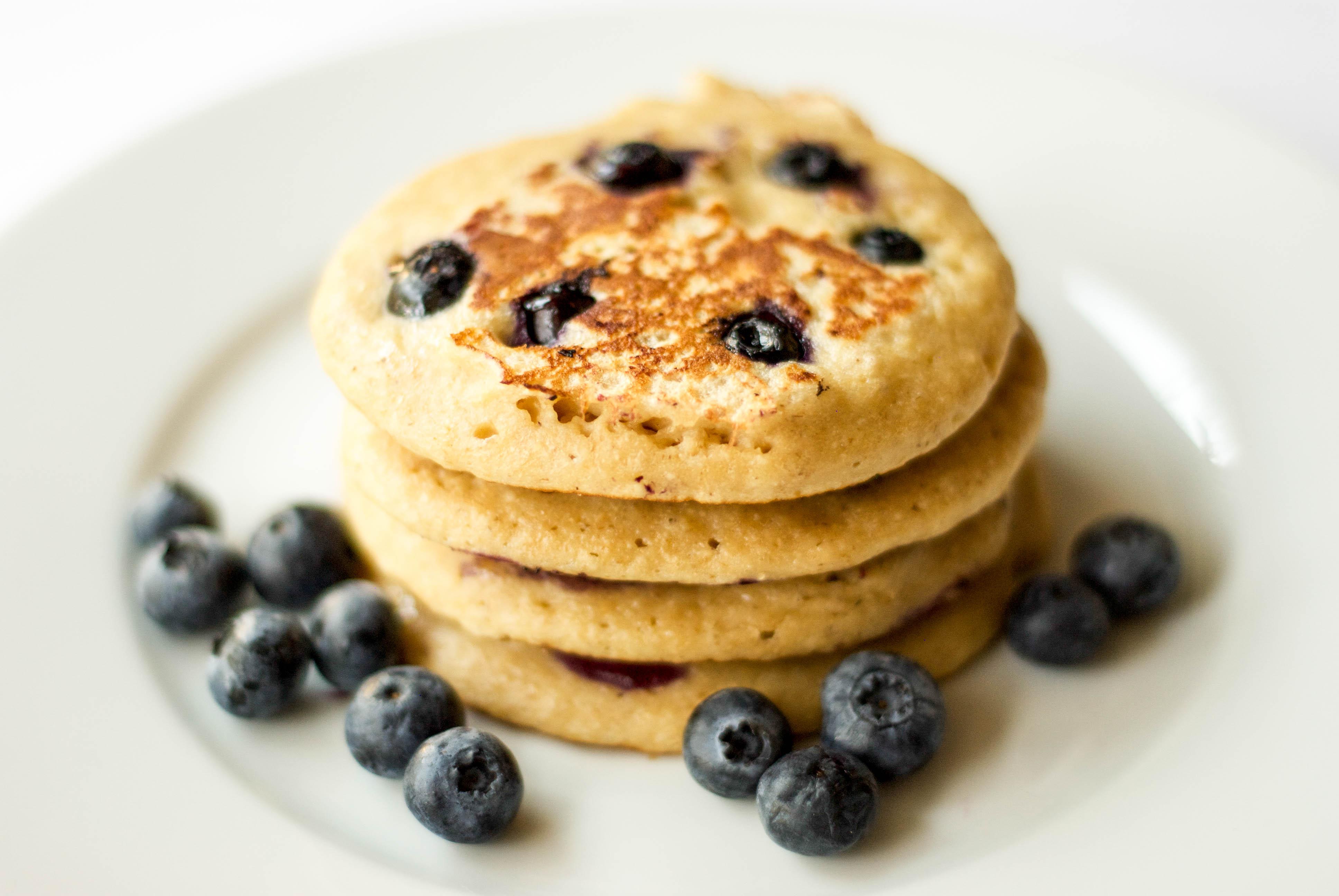 Blueberry Yogurt Pancakes | Family Food Forum